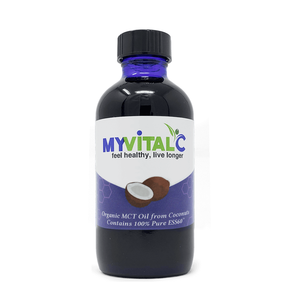 MyVitalC ESS60 in MCT Oil, 100% Organic Coconut Derived - 120ml