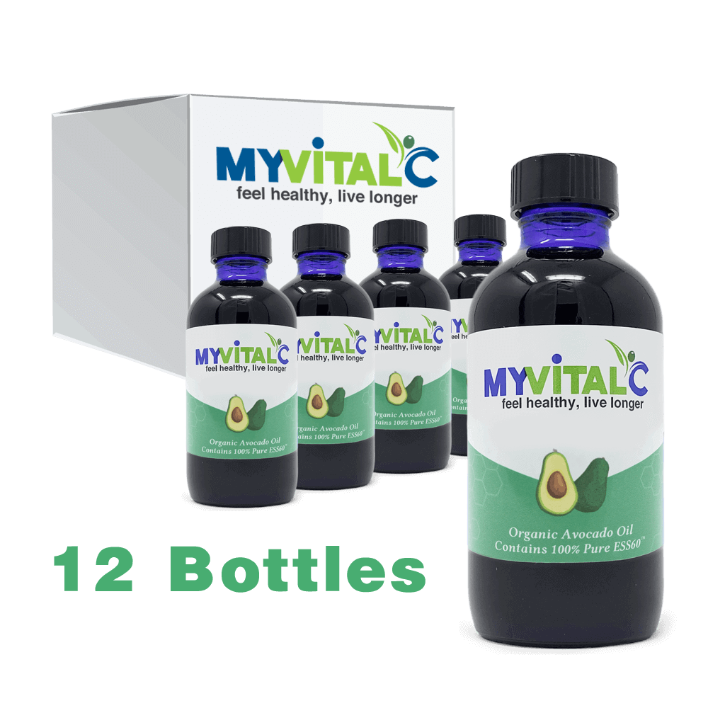 MyVitalC ESS60 in Avocado Oil, Case of 12 (1440ml total)